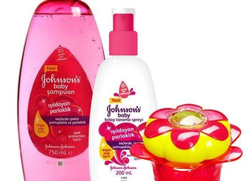 Johnsons Baby Kız Çocuk İçin Hediye SETİ