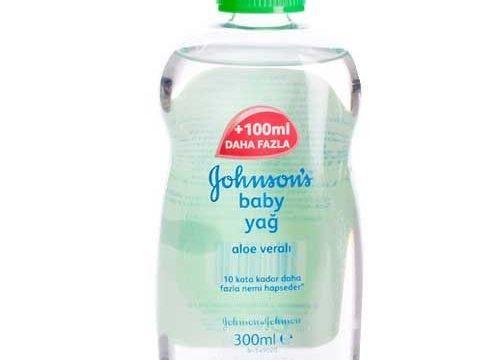 Johnsons Baby Yağ Aloe Veralı 300 ml