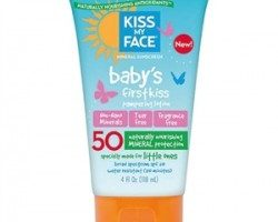 Kiss My Face Babys First Kiss Mineral Lotion Spf50 118ml