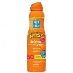 Kiss My Face Kid Defense Angle Air Powered Spray Spf50 177ml