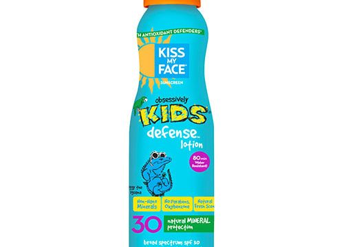 Kiss My Face Spf30 Kids Defense Air Powered Spray Lotion 177ml