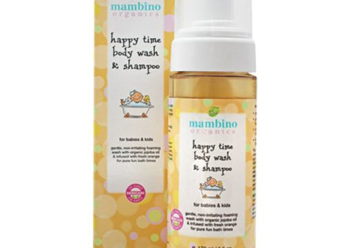 Mambino Happy Time Wash & Shampoo 170ml