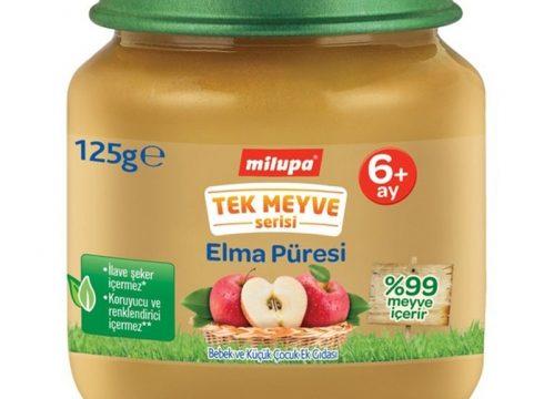 Milupa Tek Meyve Serisi Elma Püresi 125 gr | +6 Ay