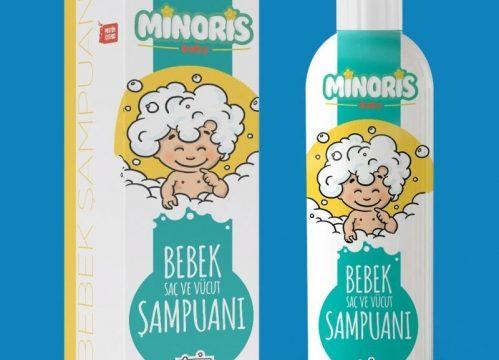 Minoris Bebek Saç ve Vücut Şampuanı 400 ml