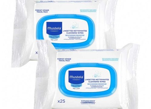 Mustela Facial Cleansing Cloths 2×25 Adet
