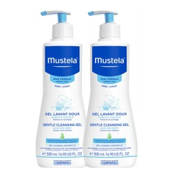 Mustela Gentle Cleansing Gel Şampuan 2 Li SET