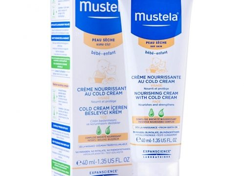 Mustela Nourishing Cream With Cold Cream Face 40 ml