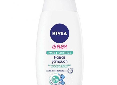 Nivea Baby Pure & Sensitive Hassas Şampuan 500ml