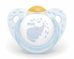 NUK Kauçuk Emzik Baby Blue No:2 0-6 Ay Tekli