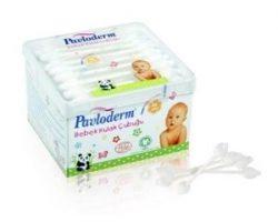 Pavloderm Organik Bebek Kulak Çubuğu 56 Adet