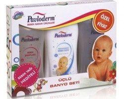 Pavloderm Üçlü Banyo Bebek Bakım Seti