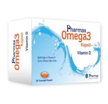 Pharmax Omega3+Vitamin D 50 Kapsül Kullananlar