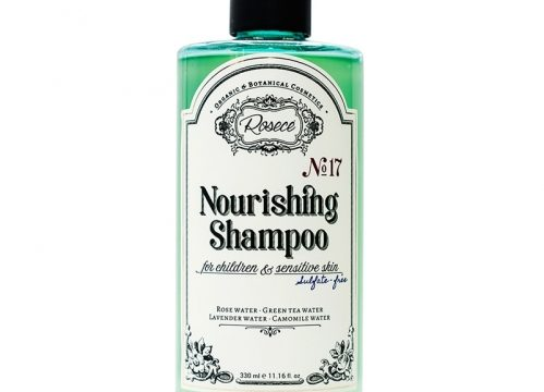 Rosece Nourishing Shampoo For Children & Sensitive Skin Sulfate 330 ML