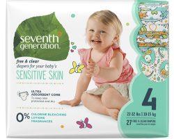 Seventh Generation Bebek Bezi-4 (10 -15 kg) 27 Adet
