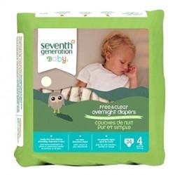 Seventh Generation Bebek Bezi-4 Gece Boyu (10.0 kg ve üstü) 24 Adet