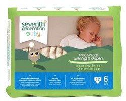 Seventh Generation Bebek Bezi-6 Gece Boyu (15.9 kg ve üstü) 17 Adet