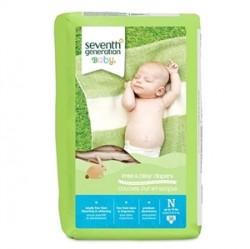 Seventh Generation Bebek Bezi-Yeni Doğan 4,5 Kg a kadar-36 Adet