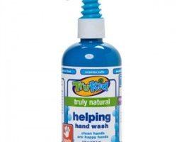 Trukid Helping Hand Wash – Çocuklar için Organik İçerikli Tamamen Doğal El Sabunu 236 ml