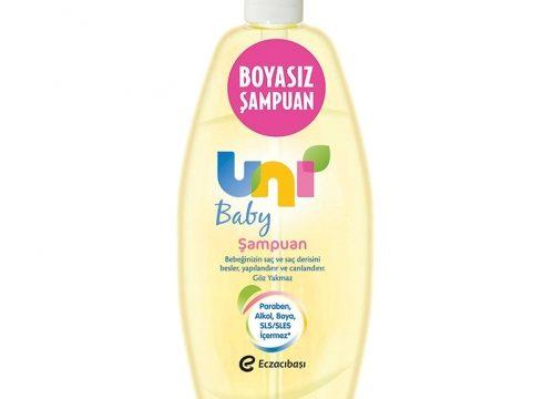 Uni Baby Boyasız Saç ve Vücut Şampuanı 500 ML