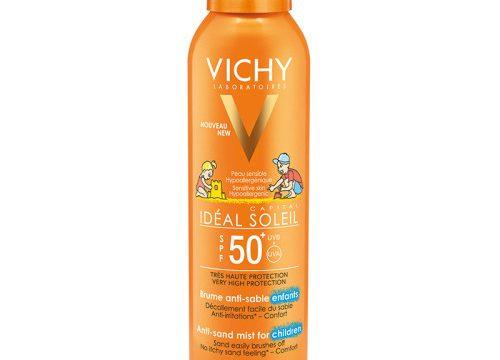 Vichy Ideal Soleil Spf50+ Çocuklar İçin Yüksek Korumalı Güneş Spreyi 200ml