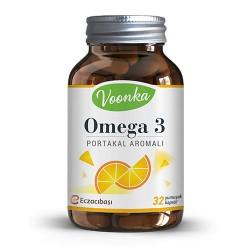 Voonka Omega 3 Portakal Aromalı Takviye Edici Gıda 32 Kapsül Kullananlar