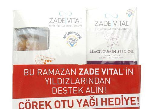 Zade Vital Zeytinyağlı Kudret Narı Cam Kavanoz 20×8 ml + Çörek Otu Yağı Hediye Kullananlar