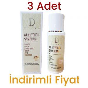 3 Adet Diona At Kuyruğu Şampuan 3 x 300 ML kullananlar