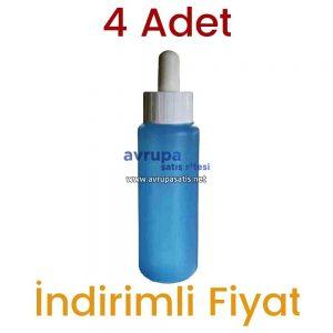 4 Adet Mavi Saç Losyonu + 1 Adet Dermoroller 540 İğneli 1 mm + 1 Adet Saç Bakım Yağı + 1 Adet Tahta Tarak  4 x 60 ML kullanan yorumları
