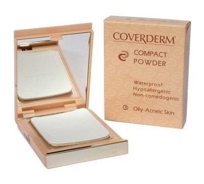 Coverderm Compact Powder Oily Skin Kullananlar