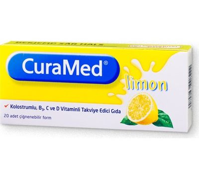 Curamed Limon Aromalı 20 Pastil Kullananlar
