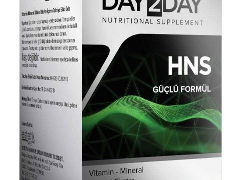 Day2Day HNS Bitkisel 60 Tablet Takviye Edici Gıda Kullananlar