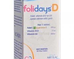 Folidays D 30 Tablet Kullananlar