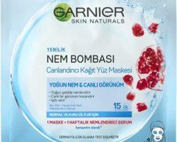 Garnier Nem Bombası Canlandırıcı Kağıt Kullananlar
