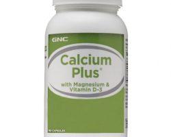 GNC Calcium Plus Vitamin D-3 Takviye Edici Gıda 180 Kapsül Kullananlar