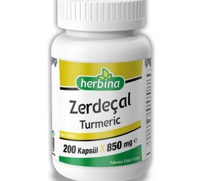 Herbina Zerdeçal Curcumin 200 Kapsül Kullananlar