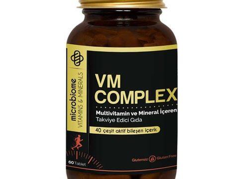 Microbiome VM Complex 60 Tablet Kullananlar