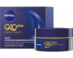 Nivea Q10 Kırışık Karşıtı Gece Kullananlar