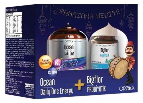 Orzax Ocean Daily One Energy Alana Bigflor Kapsül HEDİYE Kullananlar