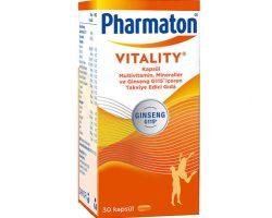 Pharmaton Vitality Multivitamin 30 Kapsül – Takviye Edici Gıda Kullananlar