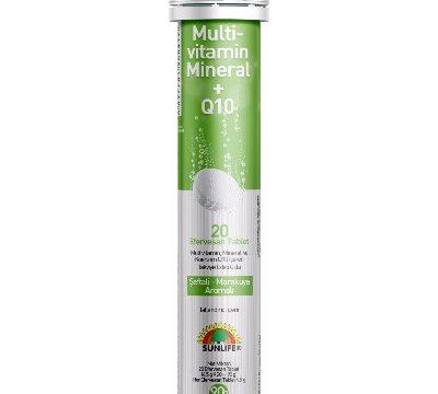 Sunlife MultiVitamin Mineral Q10 20 Kullananlar