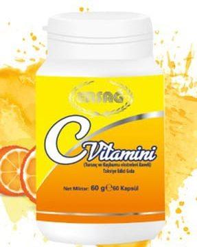 C Vitamini Kapsül (Turunç Ve Kullananlar