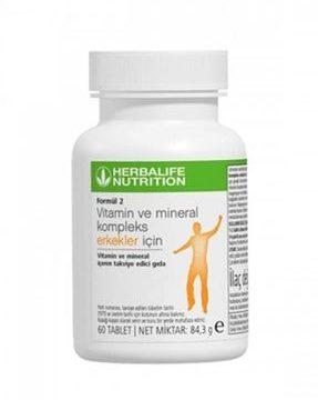 Formül 2 Vitamin Ve Mineral Kullananlar