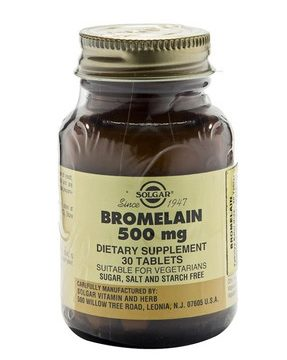 Bromelain 500 Mg 30 Tablet Kullananlar