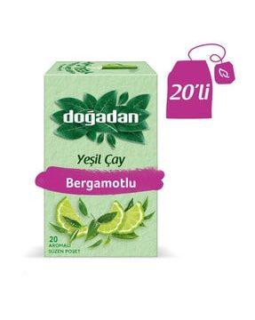 Doğadan Yeşil Çay Bergamot Aromalı Kullananlar