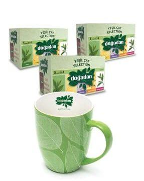 Kupa Bardak Hediyeli Yeşil Çay Kullananlar
