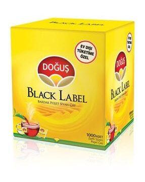 Black Label Bardak Poşet Çay Kullananlar