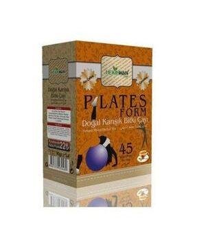 Plates Form Karışık Bitki Çayı Kullananlar