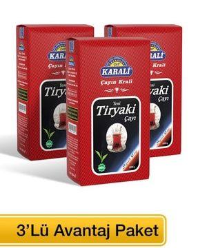 Karali Tiryaki Dökme Çay Kullananlar
