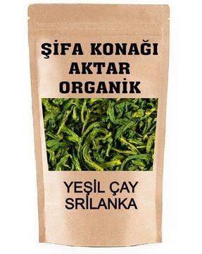 Yeşil Çay Srilanka Geniş Yaprak Kullananlar